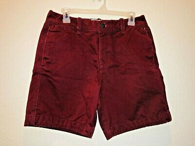 Abercrombie & Fitch Vintage Mens Maroon Shorts Size 30Wx17L - Rarely Worn - Look