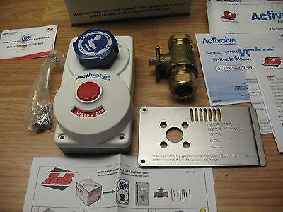 Activalve Auto Water Shutoff Device - - New