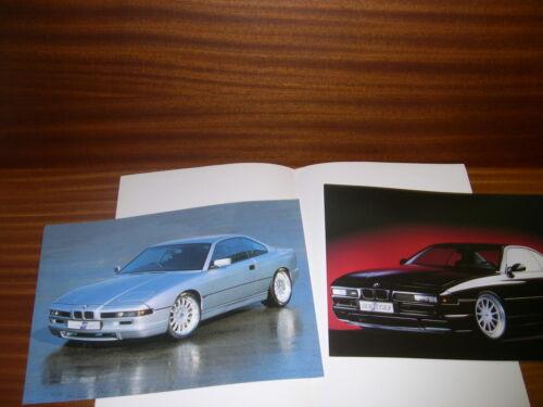 BMW 8 850 E31 Hartge Motorsport brochure catalog prospekt depliant katalog