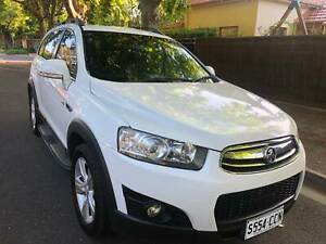 2012 Holden Captiva 7 Cx (4x4) 6 Sp Automatic 4d Wagon