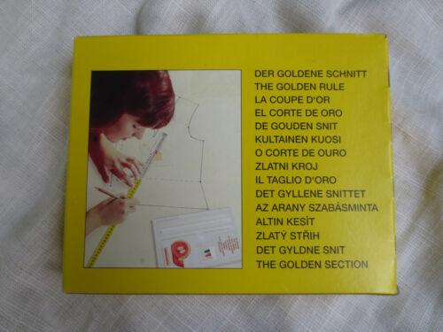 LUTTERLOH SYSTEM THE GOLDEN RULE DIY SEWING PATTERN MAKING KIT GERMANY