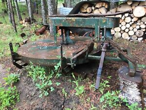 Flail type brush cutter 3 point hitch pto.