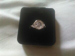 STIRLING SILVER EVERLASTING RING SIZE 5