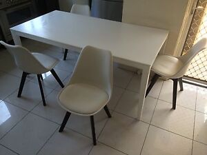 Dining table and six chairs Rose Bay Eastern Suburbs Preview