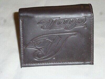 TORONTO BLUE JAYS    Leather TriFold Wallet    NEW   dark  z