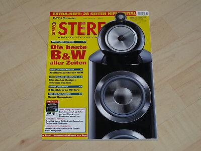 STEREO,Magazin für HiFi , High End ,Musik, Magazin, 11/2016
