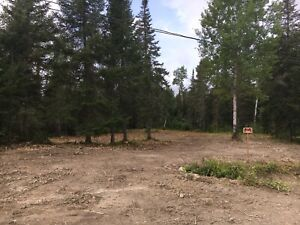 Cleared 1 acre waterfront  lot