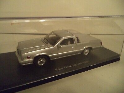 NEO FORD THUNDERBIRD 1980     1/43RD SCALE    IN CASE.