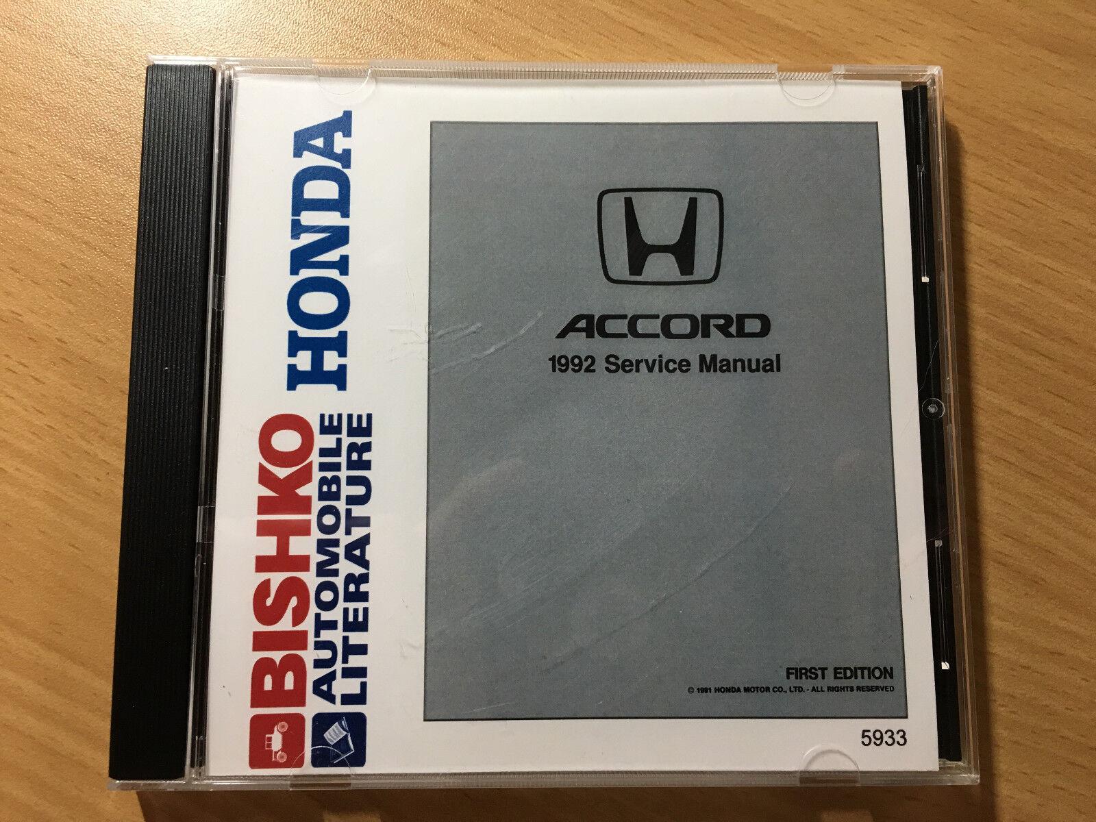 1992 Honda Accord Service Manual