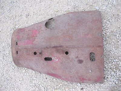 Mccormick Farmall F20 Tractor Engine Motor Hood Cover Panel Original