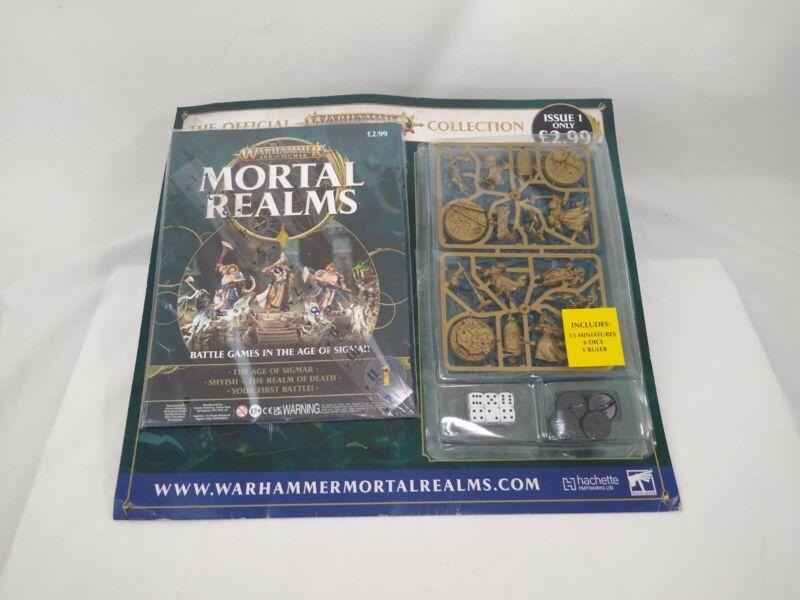 Games Workshop Warhammer Mortal Realms Issue 1 Age of Sigmar BNIB New Sealed