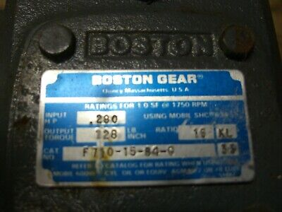 Boston Gear F710-15-b4-g Speed Reducer 151