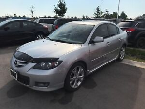 2007 Mazda Mazda3 GT SUNROOF, HEATED SEATS, ALLOY RIMS, 2.3L ENG