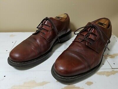 BACCO BUCCI MEN'S BROWN LEATHER CAP TOE OXFORD DRESS SHOES SIZE 10 1/2 D Bacco Bucci Oxford