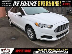 2016 Ford Fusion S | BACKUP CAM | BLUETOOTH | 50 KMS!!