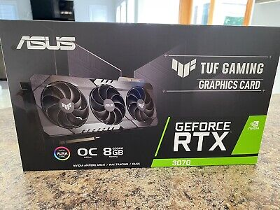 🔥 ASUS TUF GeForce RTX 3070 OC 8GB GDDR6 🔥✅ FEDEX 2DAY ✅ IN HAND