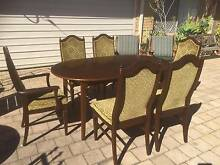 6 Seat Regency Style Timber Dining Setting Beckenham Gosnells Area Preview