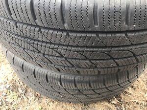 2 pneus Rotalla hiver 215/70R16