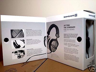 NEW Beyerdynamic DT 990 Pro 250 Ohm Open Professional Studio Headphones Black