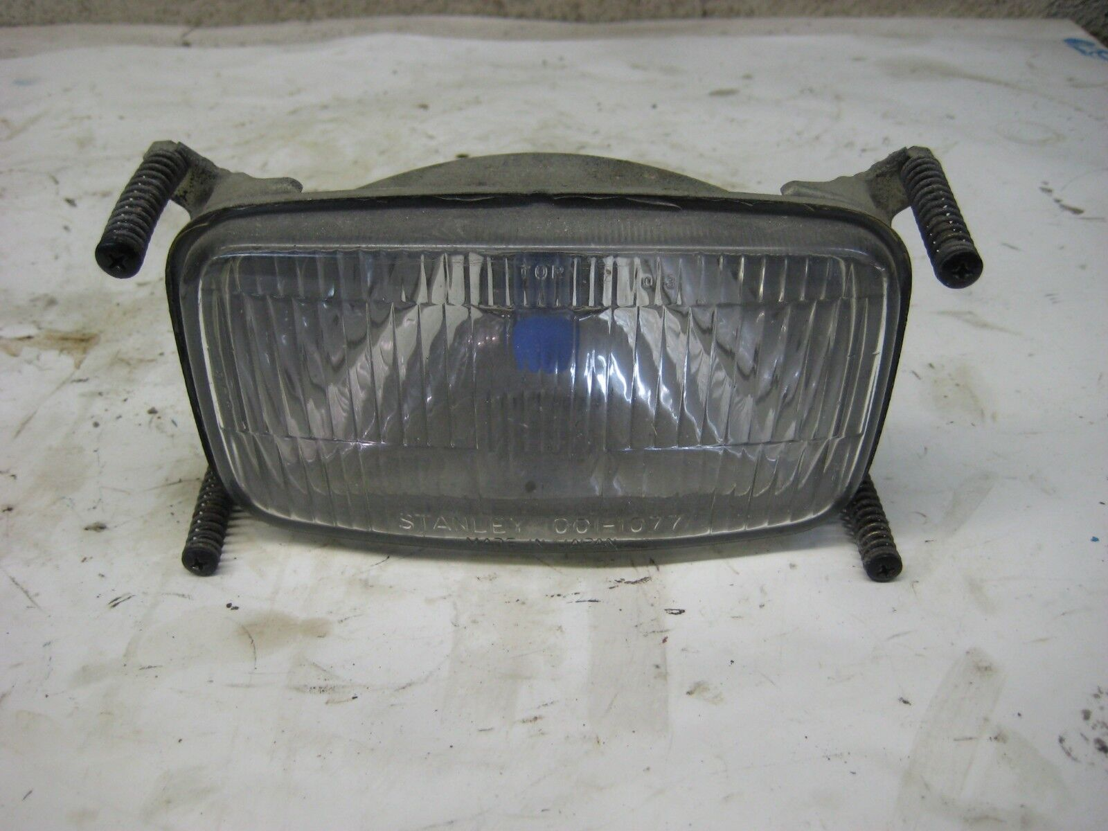 1987 Polaris Indy 400 Snowmobile Headlight Assembly