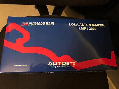 Auto Art 1/18 Lola Aston Martin LMP1 2009 Model. New In Box