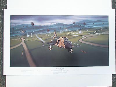 Leader of the Pack by Matthew Waki - F-4C Phantom II - Robin Olds -Aviation Art