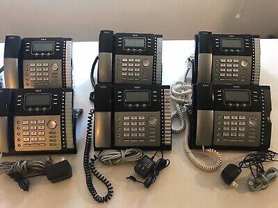 Rca Visys 25424re1 4 Line Business Ip Phone Desk Office - Good - Works