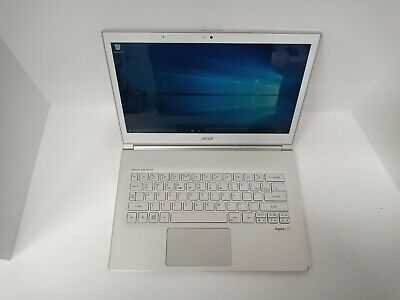 "Acer Aspire S7-393 13.3"" FullHD Touch Laptop i7 8GB 256GB Windows 10 - White"