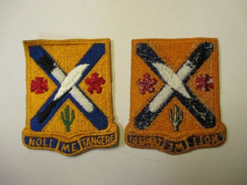 e3231 US Army Vietnam 1st and 2nd Battalion 2nd Infantry Regiment  Patch IR15T