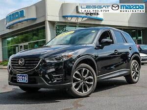 2016 Mazda CX-5 GT GT- LEATHER, MOONROOF, BOSE, BLUETOOTH, RE...