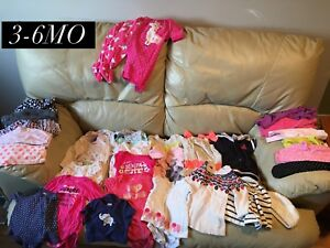 Girls clothes, 3-6 months