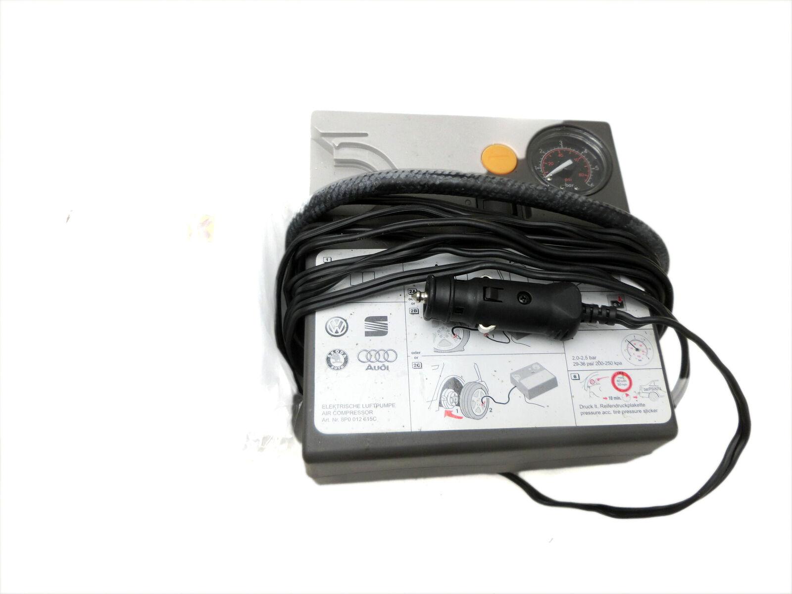 Elektrische Luftpumpe Luft Kompressor Pannenset Dichtmittel für Touran 1T TDI 2,