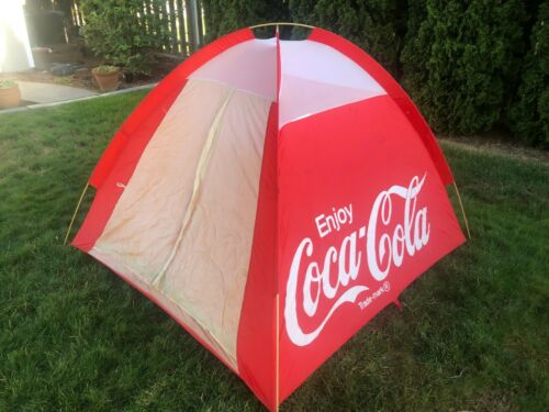 Coca-Cola Coke Vintage Camping Tent