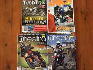 Motorcycle magazines assorted Beacon Hill Manly Area Preview