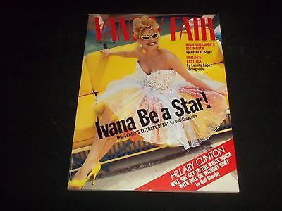 1992 May Vanity Fair Fashion Magazine   Ivana Trump Cover   J 1107