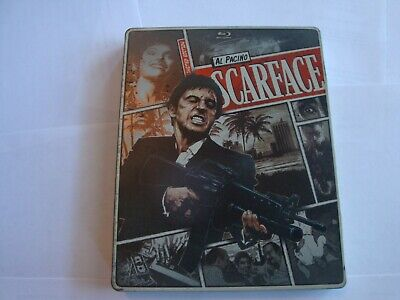 Scarface   *Steelbook*  (Blu-ray, 1983, );Al Pacino *NO DVD or DIGITAL*