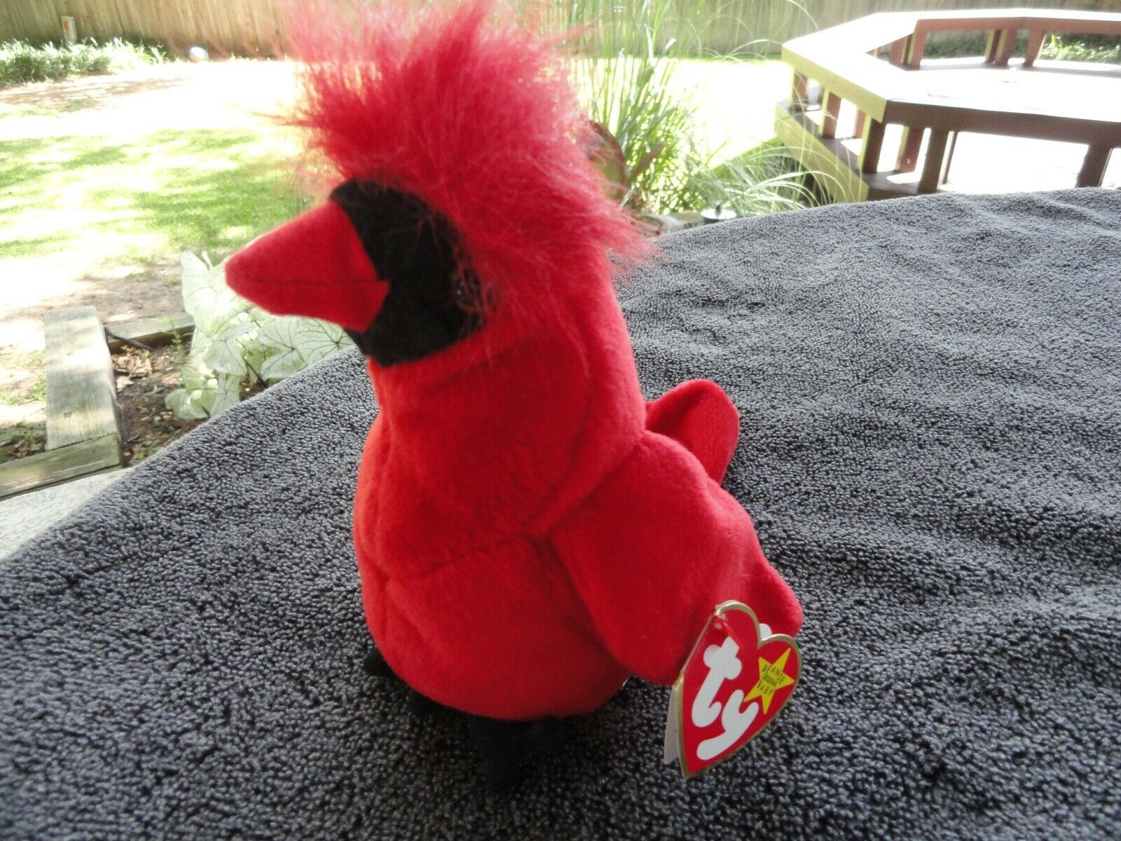 Ty 1998 Beanie Baby Mac The Cardinal - $40.00