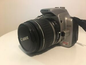 Canon EOS 350D DSLR digital camera with 18-55 zoom lens