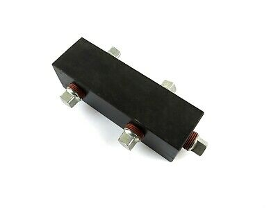 Ram-pac International Ha-27 5 Port Rectangular Hydraulic Manifold 38 Npt