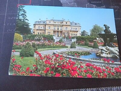 Postcard, Luton Hoo, The Terrace from Rose Garden, Bedfordshire. 1980/90s