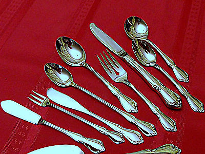 NEW!USA! Oneida CHATEAU IceTeas Spoons Butter Knives Serv. Pieces MNT - Chateau Butter Serving Knife