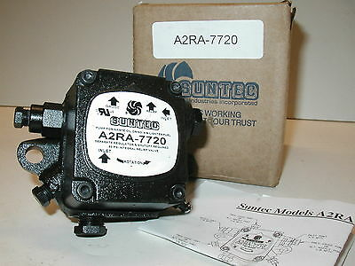 Suntec A2ra 7720 Transfer Waste Oil Burner Supply Pump New One Year Warranty