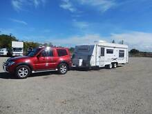 "2003 Coromal Capri 660 caravan and 2007 NS Pajero Hardtop ""X"" Petrie Pine Rivers Area Preview"