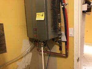 Heating , cooling and plumbing