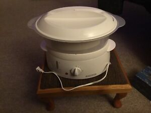 Black and Decker 4 Quart Steamer and Rice Cooker