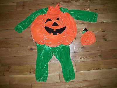 Lillian Vernon PUMPKIN Girl Boy Halloween Costume New Sealed Sz 18 - 24 M Months - 18 Month Boy Halloween Costumes