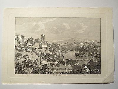 Bern - Alter Druck um 1820/30 / Stammbuchblatt
