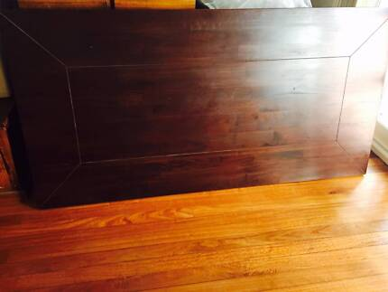 Solid Wood dining table and 8 chairs Erskineville Inner Sydney Preview