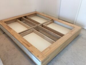 Mint Condition IKEA Queen Size Bed for $60 MUST GO