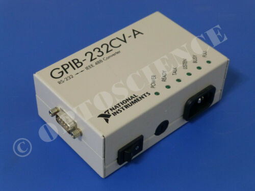 National Instruments NI GPIB-232CV-A Converter, GPIB to RS232 Serial